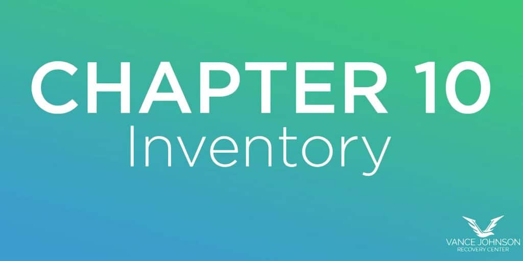 Chapter 10 inventory
